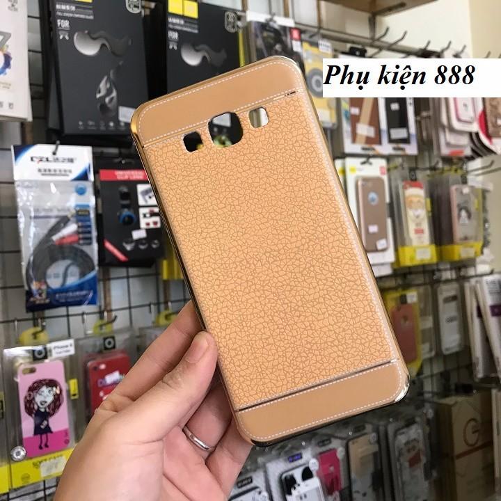 Ốp lưng silicon Samsung Galaxy A8 2016 giả da hiệu Fashion Case 4