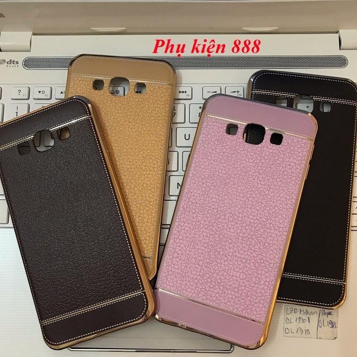Ốp lưng silicon Samsung Galaxy A8 2016 giả da hiệu Fashion Case 3