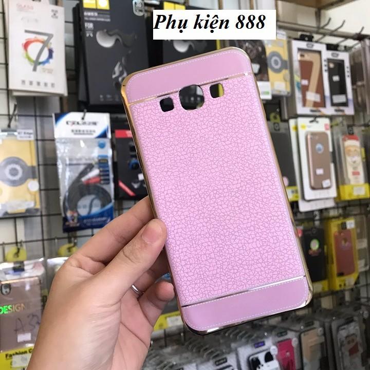 Ốp lưng silicon Samsung Galaxy A8 2016 giả da hiệu Fashion Case 2