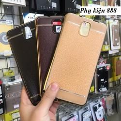 Ốp lưng silicon Samsung Galaxy Note 3 giả da hiệu Fashion Case
