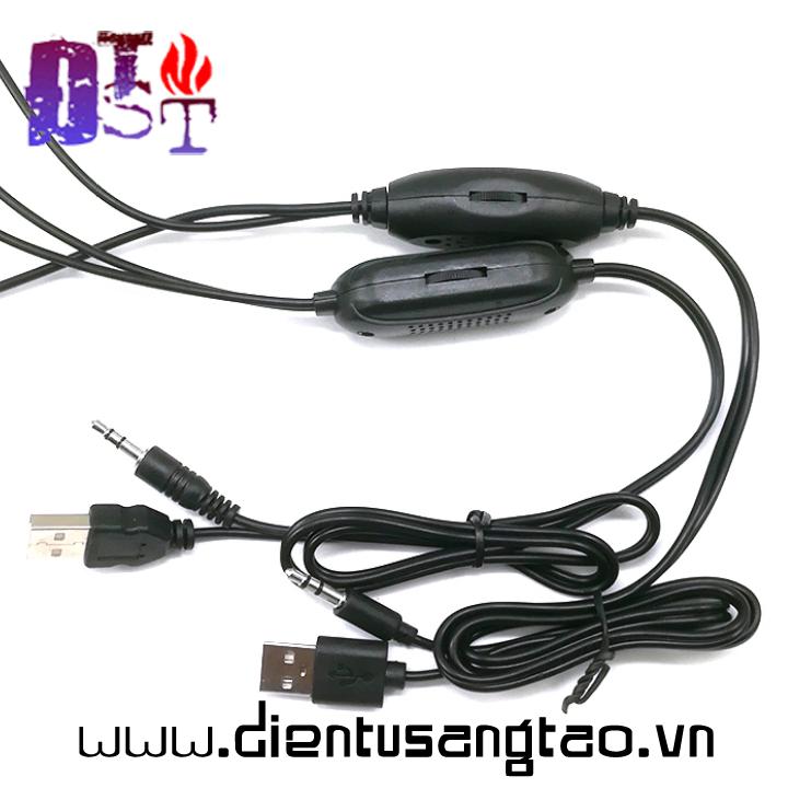 Dây USB mini 5V khuếch đại âm thanh 3W