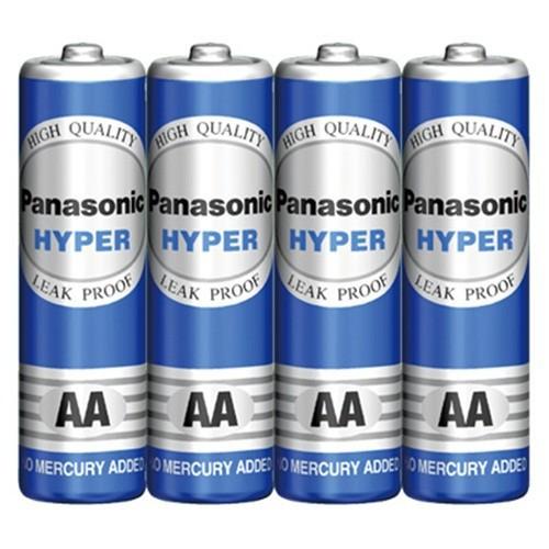 Vỉ 4 viên pin AA Panansonic Hyper Carbon 1.5V