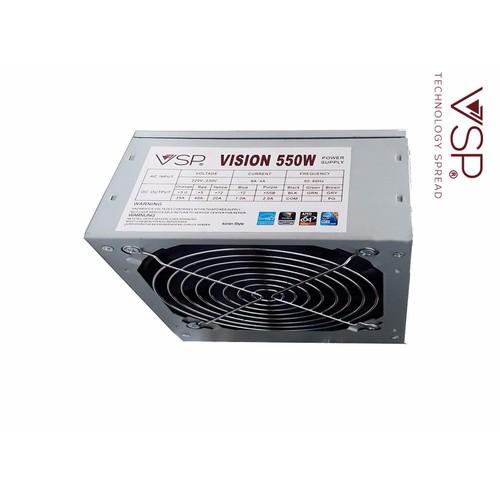 Nguồn máy tính VSP 550w fan 12