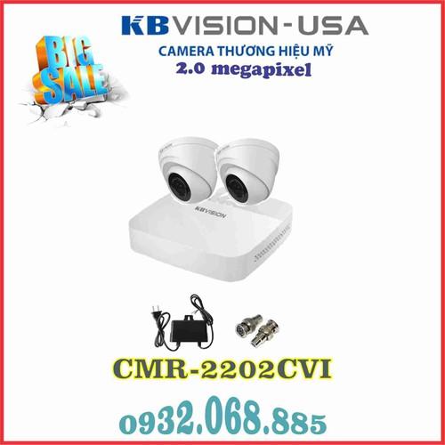 TRỌN BỘ CAMERA KBVISION 2 CAMERA 2.0MP - 10602379 , 9057514 , 15_9057514 , 1950000 , TRON-BO-CAMERA-KBVISION-2-CAMERA-2.0MP-15_9057514 , sendo.vn , TRỌN BỘ CAMERA KBVISION 2 CAMERA 2.0MP
