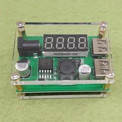 mạch giảm áp 2 cổng USB 6V-40V To 5V-3A