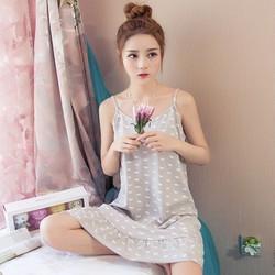 Hàng nhập váy mặc nhà Cotton VN06