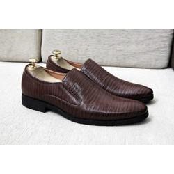 Giày tây nam  cao cấp G69 màu nâu
