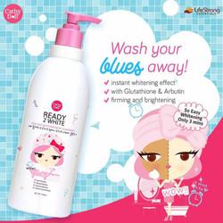 Sữa tắm Cathy Doll Ready 2 White Body One Day Whitener Cleanser 450ml