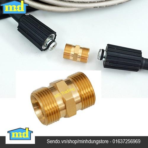 Đầu nối giữa 2 dây rửa xe áp lực cao của máy rửa xe - Chuẩn Đồng - 5421336 , 9065421 , 15_9065421 , 110000 , Dau-noi-giua-2-day-rua-xe-ap-luc-cao-cua-may-rua-xe-Chuan-Dong-15_9065421 , sendo.vn , Đầu nối giữa 2 dây rửa xe áp lực cao của máy rửa xe - Chuẩn Đồng