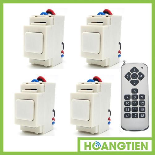Bộ 4 công tắc điều khiển từ xa IR RF TPE RI02 + Remote 18 nút R3.4 - 5416713 , 9058264 , 15_9058264 , 700000 , Bo-4-cong-tac-dieu-khien-tu-xa-IR-RF-TPE-RI02-Remote-18-nut-R3.4-15_9058264 , sendo.vn , Bộ 4 công tắc điều khiển từ xa IR RF TPE RI02 + Remote 18 nút R3.4