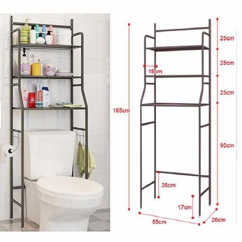 Kệ để đồ nhà tắm inox 3 tầng - 5418157 , 9060408 , 15_9060408 , 388000 , Ke-de-do-nha-tam-inox-3-tang-15_9060408 , sendo.vn , Kệ để đồ nhà tắm inox 3 tầng