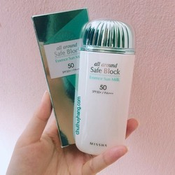 Kem chống nắng All-Around Safe Block Essence Sun Milk SPF50+ PA+++
