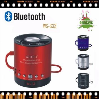 Kết quả hình ảnh cho Loa Bluetooth WS 633BT