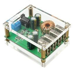mạch giảm áp 7V-60V To 5V-5A 4 cổng USB