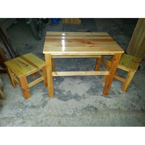 Bàn ghế gỗ tại xưởng giá rẻ