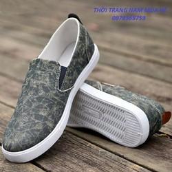 Giày Lười Nam Thời Trang Phong Cách Không Đụng Hàng