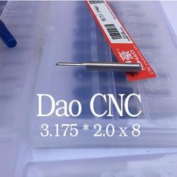 combo 10 mũi cnc cắt alu 3.172 * 2.0 x 8 mm