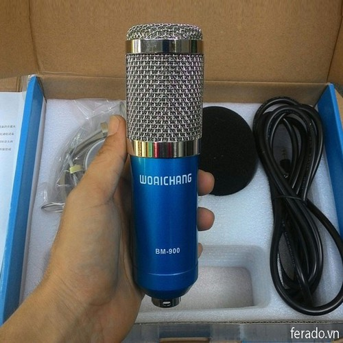 Micro Thu Âm Livestream BM-900