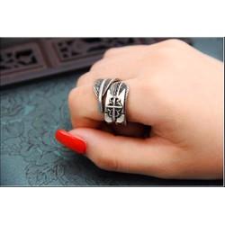 Nhẫn Sở kiều truyện Chỉ giản nhẫn Phim đặc công hoàng Phi phong cách cổ trang thiết kế sáng tạo đẹp thời trang