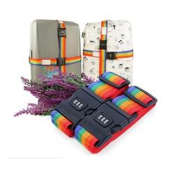 Combo 2 Dây khóa Vali kèm thẻ hành lý, khóa số an toàn