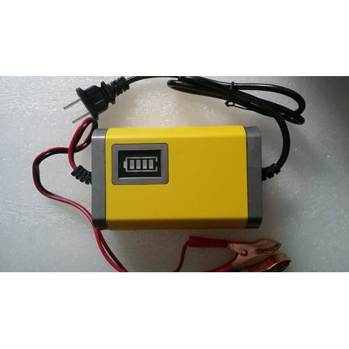 Bộ sạc bình ắc quy tự động 12V 20Ah-80Ah sạc acquy xe máy, xe hơi - 5424877 , 9072695 , 15_9072695 , 250000 , Bo-sac-binh-ac-quy-tu-dong-12V-20Ah-80Ah-sac-acquy-xe-may-xe-hoi-15_9072695 , sendo.vn , Bộ sạc bình ắc quy tự động 12V 20Ah-80Ah sạc acquy xe máy, xe hơi