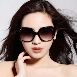 Mắt kính nữ gọng tròn sang trọng