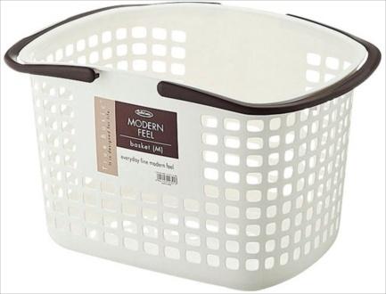 Giỏ đựng đồ giặt Lustroware Nhật Bản cỡ trung L_5032WB 2