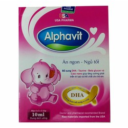 Alphavit ăn ngon ngủ tốt