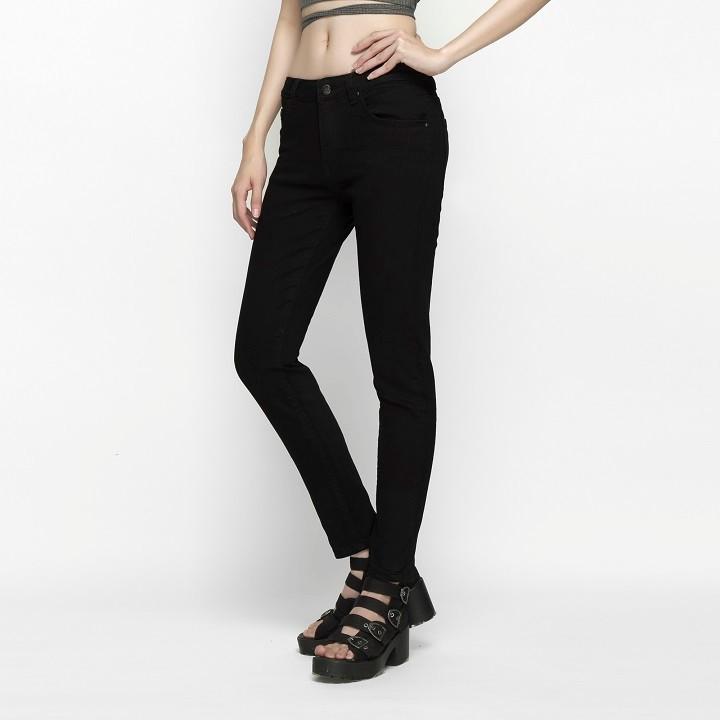 Quần Jean Nữ Đen Skinny Dáng Ôm Cao Cấp - AAA Jeans 1