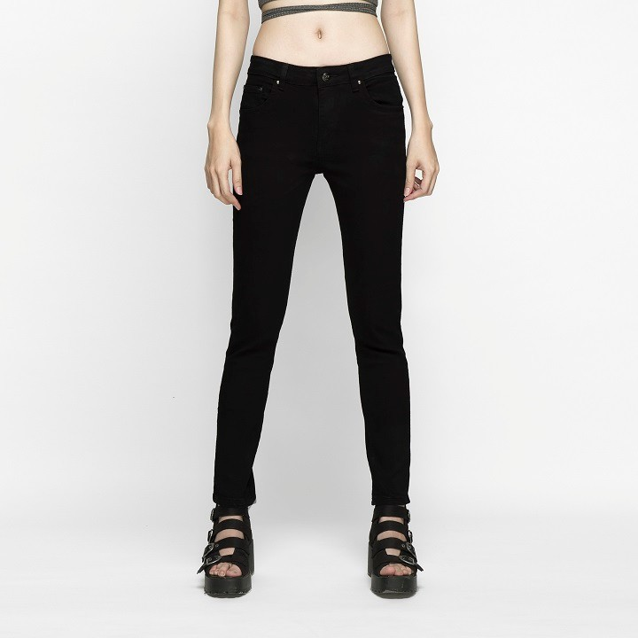 Quần Jean Nữ Đen Skinny Dáng Ôm Cao Cấp - AAA Jeans 2