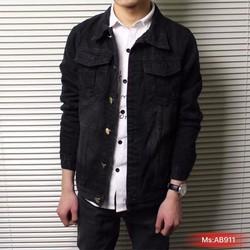 Áo khoác Jean nam thời trang, kiểu dáng trẻ trung, phong cách nam tính