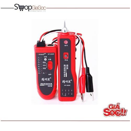 Máy test dò cáp mạng và điện thoại NOYAFA NF-806R - 5430014 , 9082628 , 15_9082628 , 1139000 , May-test-do-cap-mang-va-dien-thoai-NOYAFA-NF-806R-15_9082628 , sendo.vn , Máy test dò cáp mạng và điện thoại NOYAFA NF-806R