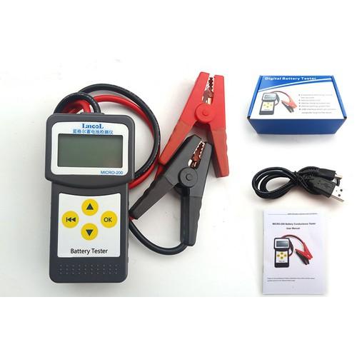 Máy đo nội trở acquy - Bộ test ắc quy - Kiểm tra chất lượng Lancol 200 - 4996108 , 9091298 , 15_9091298 , 850000 , May-do-noi-tro-acquy-Bo-test-ac-quy-Kiem-tra-chat-luong-Lancol-200-15_9091298 , sendo.vn , Máy đo nội trở acquy - Bộ test ắc quy - Kiểm tra chất lượng Lancol 200