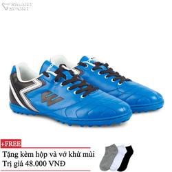 Giày bóng đá FX PLush xanh trắng - nhà phân phối chính từ hãng