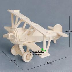 Đồ chơi lắp ráp gỗ 3D Mô hình Máy bay...