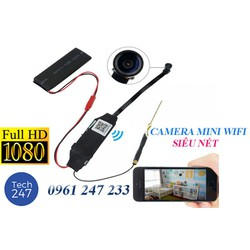 CAMERA WIFI MINI SIÊU NÉT