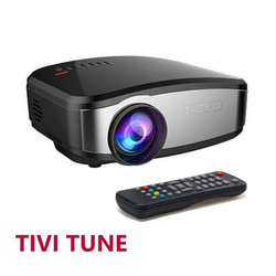 Máy chiếu mini HD CHEERLUX C6 Home Theater, Tivi Tuner
