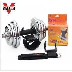 Valeo Cuốn  tay  có móc thép hỗ trợ nâng tạ kéo xà tập xô chính hãng