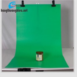 Phông chụp ảnh bằng nhựa PVC xanh lá cây 1m x 1m