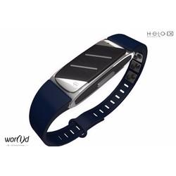 Máy đeo tay y tế thông minh 4.0 helo lx - màu xanh đen