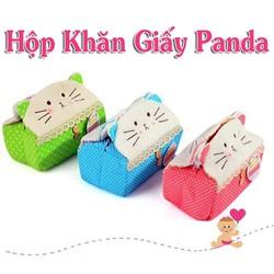 Hôp đựng khăn giấy mèo Hello Kitty