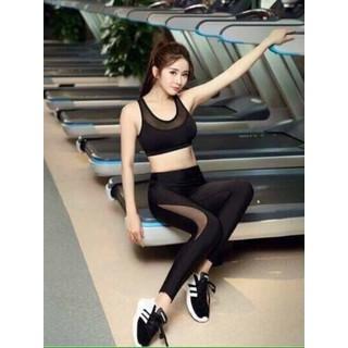 Bộ quần áo thể thao tập Gym yoga - BTTPL thumbnail