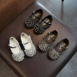 Giày Búp Bê Đính Đá Cho Bé Yêu - HPG0297