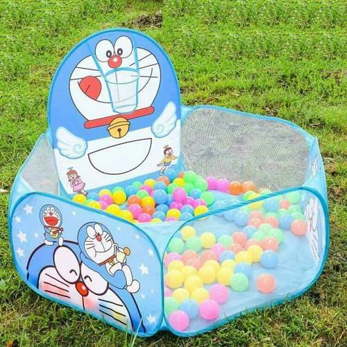 Nhà lều kèm 100 bóng cho bé thỏa thích vui chơi