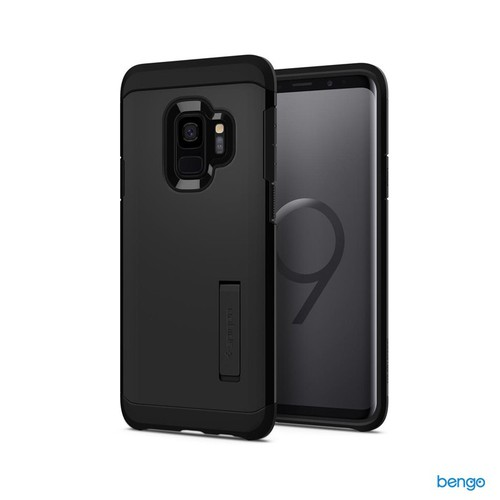 Ốp lưng Samsung Galaxy S9 SPIGEN Tough Armor - Black