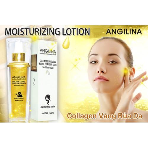 Collagen Vàng Rửa Da 24k Trắng Da Trị Nám Angilina