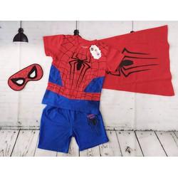 quần áo siêu nhân nhện mùa hè