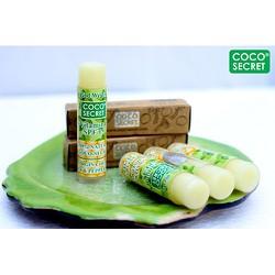 Son dưỡng môi dầu dừa sáp ong Tinh dầu bạc hà Coco secret
