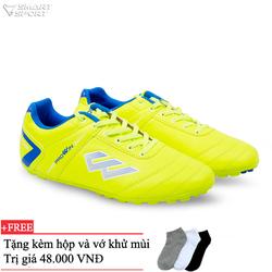 Giày đá bóng PROWIN S50 vàng chanh - nhà phân phối chính từ hãng
