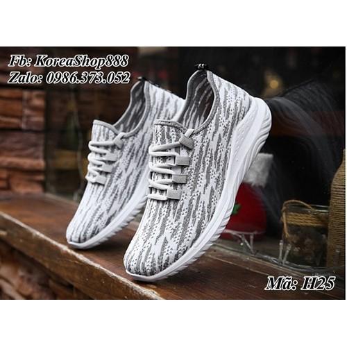 Giày Sneaker nam kiểu dáng Hàn Quốc Mã H25 - 5434544 , 9092046 , 15_9092046 , 150000 , Giay-Sneaker-nam-kieu-dang-Han-Quoc-Ma-H25-15_9092046 , sendo.vn , Giày Sneaker nam kiểu dáng Hàn Quốc Mã H25
